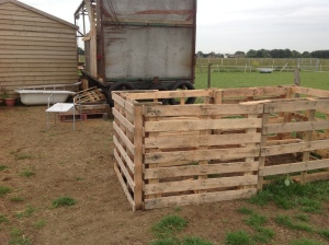 Horse Manure composters